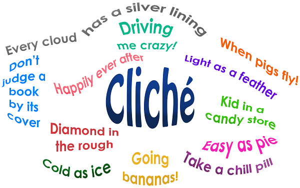 8. Using clichés
